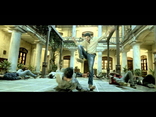 ♣ Kaththi - Fight Scene | Interval Fight | Mass | 1080p ♣