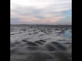 Recuo do Mar em Guaratuba (PR) - Brasil. 04.10.17