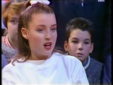 Dannii Minogue's first appearance on British TV, with Kylie on Going Live