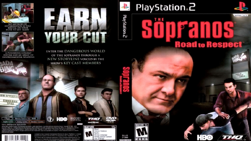 PS2/Exlusive - The Sopranos: Road to Respect..Full-Rus.[ PCSX2-1.5.0 DX-11 CRC-AUTO / В СТИЛЕ GTA ].fps.50/.HD.720.p