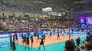 CEV Champions League Final Four Kazan 2018 Zenit-Kazan - Lube Civitanova warm up