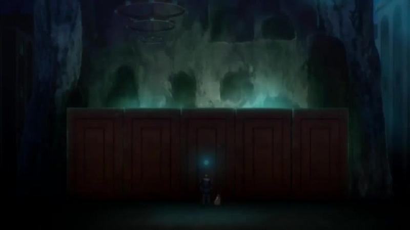 Момент из 2 серии аниме Башня Друаги: Меч Урука / Druaga no Tou: The Sword of Uruk / Uruk 2