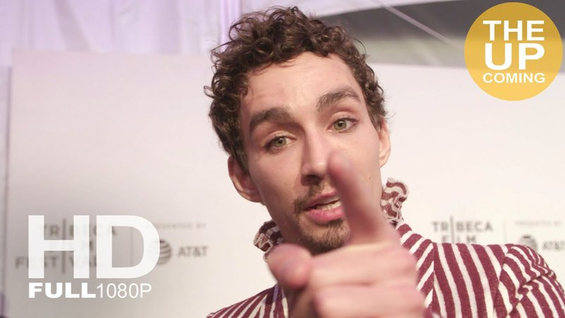 Robert Sheehan interview at Genius Picasso premiere, jokes on De Niro – Tribeca Film Festival 2018