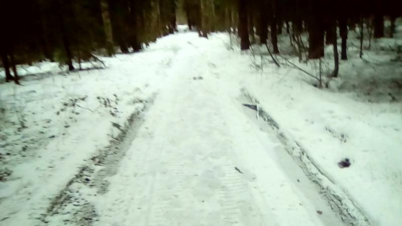 восстановительная по ледяным дорогам, тест шипов