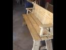 Стол скамейка