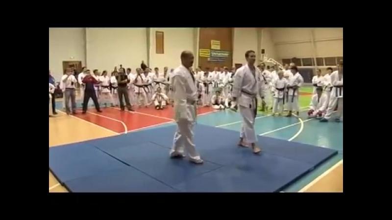 Karate Seiji Nishimura. Seminar in Moscow 2008 (66)