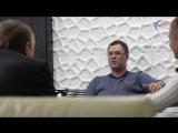 Бизнес-завтрак с Сергеем Борцовым. Олег Уваров, Альберт Хлюпин. Интервью накануне кругосветного путешествия. 2014 год.