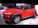 2019 Hyundai Kona Elecric Exterior and Interior Walkaround Debut at 2018 Genava Motor Show
