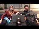Эшли и Эннис за кулисами сериала Blindspot Part 3