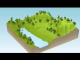Стилизация ландшафта