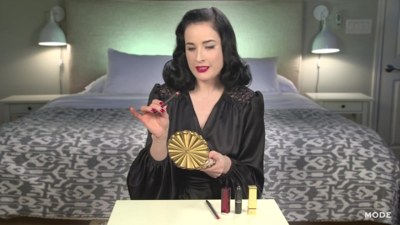 Dita Von Teese Lip Service _ About Face