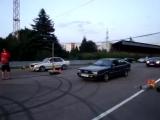 AUDI 90 Coupе 2.2 турбо-инжектор Vs BMW E30 TURBO