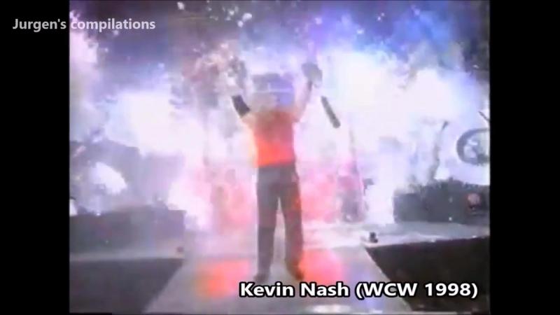 Wrestling entrances with pyrotechnics. PT2