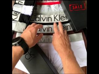 Calvin klein мужской набор нижнего белья в фирменной упаковке