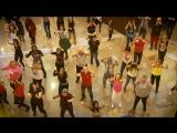 Флешмоб с актерами сериала «Сальса» в Афимолле. Выход сериала 3 января на Первом канале.