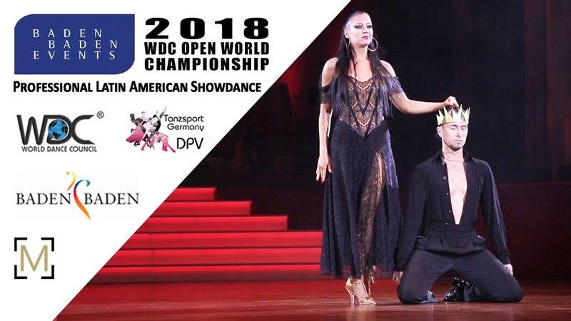 Troshichev - Zalivalova, RUS   2018 WDC Pro WCH SD LAT - Baden Baden, GER - SF