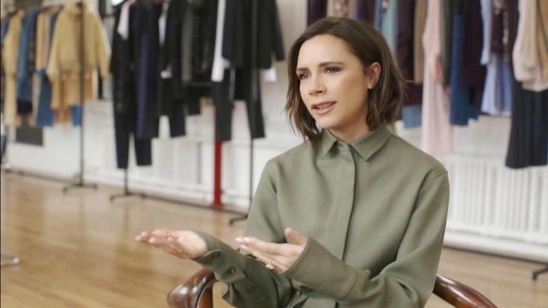 Victoria Beckham chats with Harrods Magazine