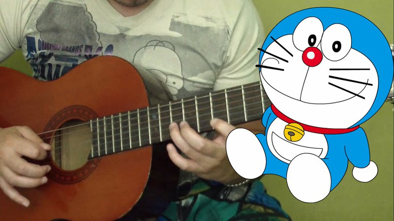 Doraemon Melody Opening Guitar Tutorial