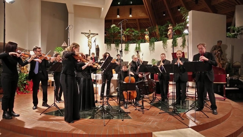 1069 J. S. Bach - Orchestral Suite No.4 in D major, BWV 1069 - Zefiro Baroque Orchestra [Alfredo Bernardini]