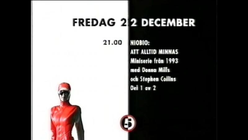 Программа передач и конец эфира (Femman [Швеция], 22.12.1995)
