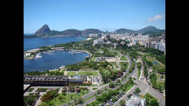 [4k] Rio de Janeiro, Aterro do Flamengo Amazing Drone 35 minute Flying of , flight recorded 4k
