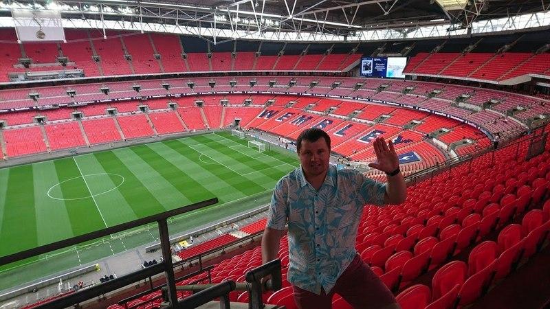 Покоряем Wembley stadium Tottenham V Newcastle