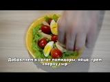 Рецепт Салат Цезарь  Recipe Salad Caesar