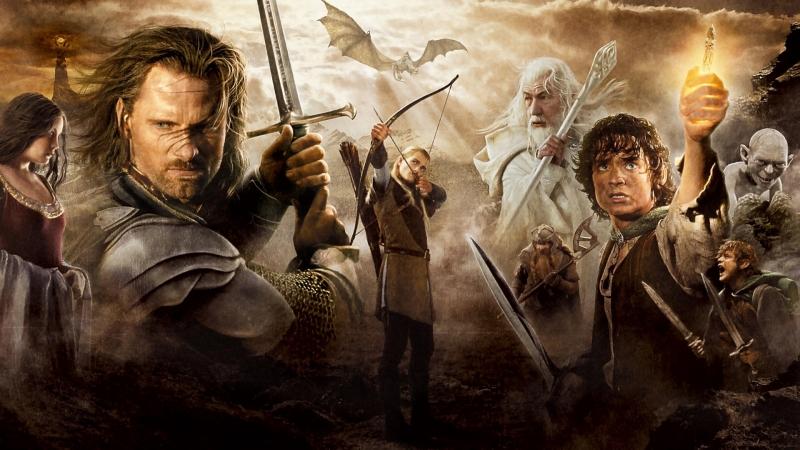 Lord Of The Rings Top 10 Епичних сцен