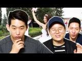 "Реакция корейцев на клип: ""Бродяга""   Корейские парни Korean guys"