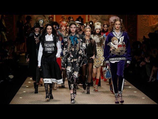 DolceGabbana Fall Winter 201819 Womens Fashion Show