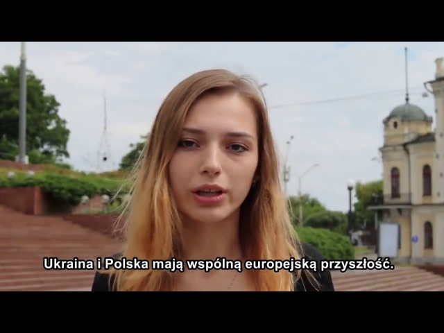 Młodzi Ukraińcy do Polaków przebaczają za Wołyń