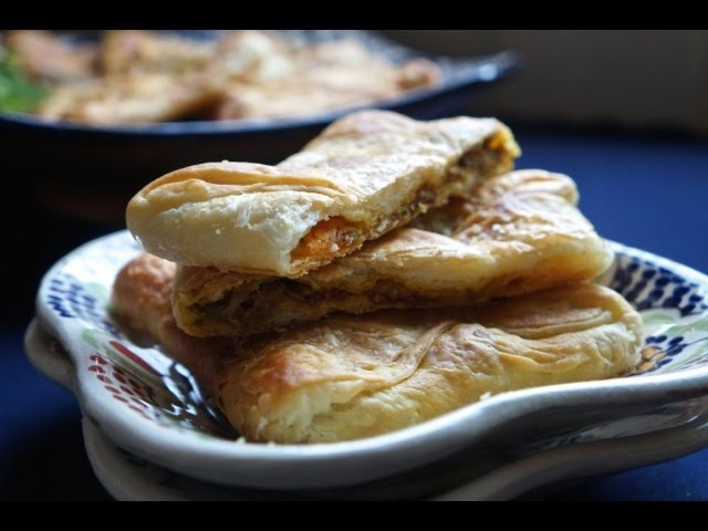 Moroccan Cuisine Baked Rghayef Bread