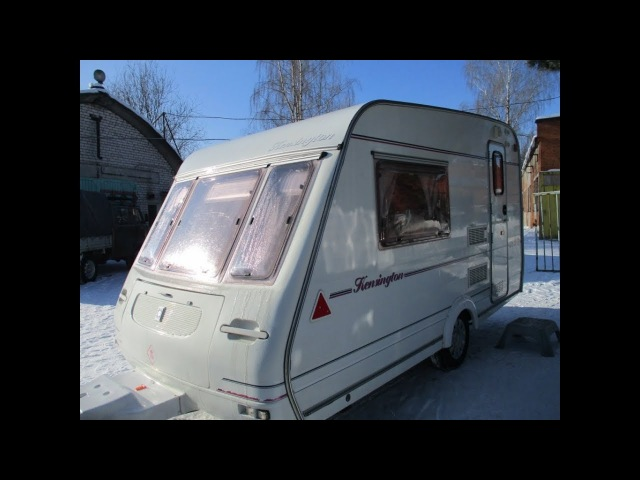 Обзор дома на колесах прицеп дачи COMPASS 1999 года