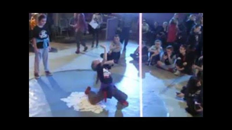 НГ батлы 2017 Орфей Тирасполь Hip-Hop Kids Final - ОксанийФедоренко vs UlitkaHipster