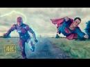 Мне самому интересно. Супермен и Флэш выясняют кто быстрее. Сцена после титров. Лига справедливости