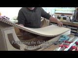 Making and veneering Arched Top Cabinets for a Back Bar
