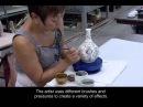 LaunchPad: Porcelain Kendi, Part 2—Painting in Cobalt
