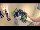 Робот-динозавр Meccasaur. Интерактивная выставка роботов в Бресте