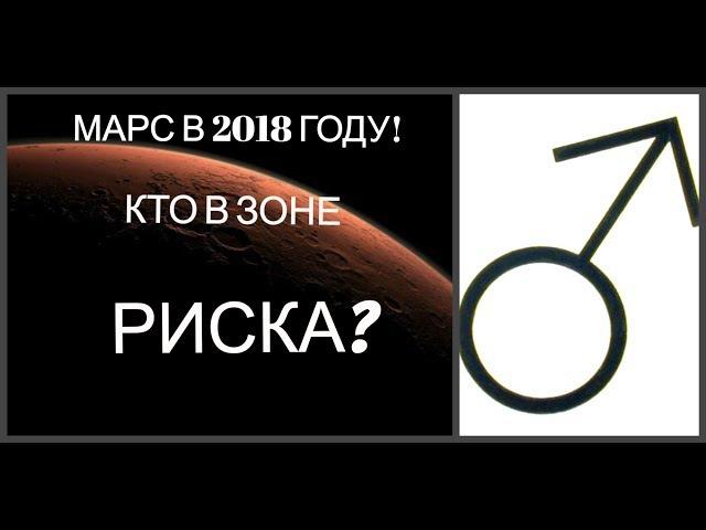 МАРС В 2018 ГОДУ! КТО В ЗОНЕ РИСКА?