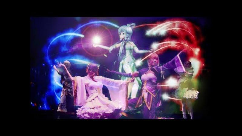 Gokuraku Jodo (極楽浄土) Japanese - Luo Tianyi - Vsinger - Vocaloid Live Concert (Subtitles cc)