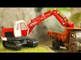 Little Excavator Play with BAD CARS - Kids Video - Cars for Kids
