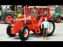 Мультики про машинки - Трактор едет! Видео для детей 2017 Цветная машинка в мультике