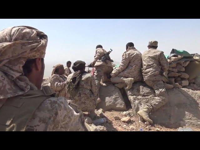 On mountain frontline, Yemen army makes push for Sanaa