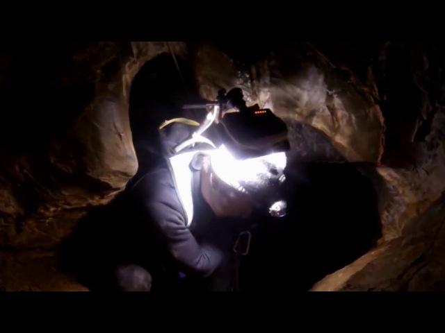 ПН 3 Пещера Аккорд. Одиночное прохождение, ночевка под землей.СТРАШНО интересно!) » Freewka.com - Смотреть онлайн в хорощем качестве