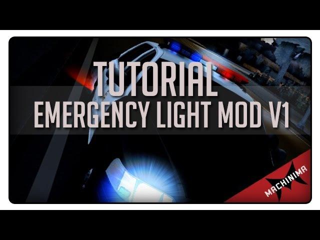 [Tutorial] Emergency Light Mod V1 - Grand Theft Auto SA
