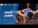Mariya Lasitskene 2 05 to win the Women's High Jump IAAF Diamond League Monaco 2017