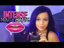 ASMR INTENSE Mouth Sounds 👄No Talking 👄 Wet Mouth, Breathing, Ear to Ear