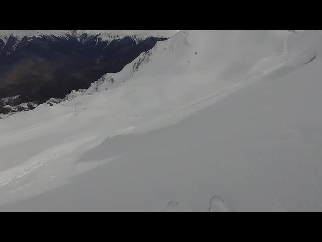 Попал в лавину. 16 Было жёстко.