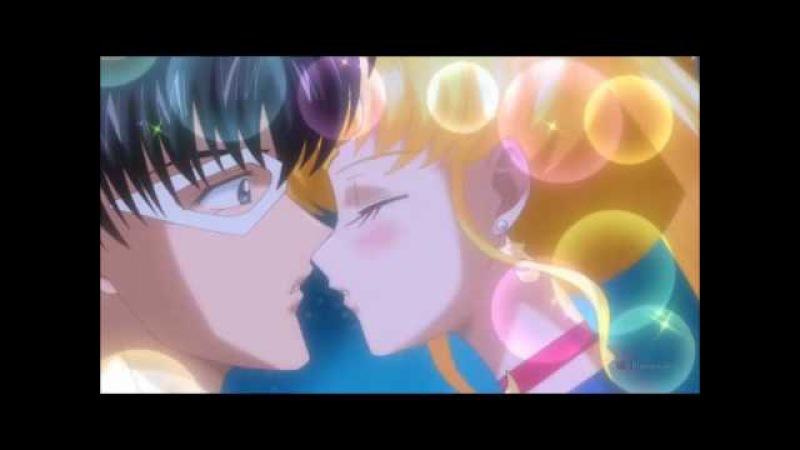 Усаги и Мамору Kiss me на русском