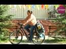 Жительница Атырау колесит по Казахстану на велосипеде и автостопом (26.09.17)